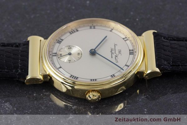 Used luxury watch IWC * 18 ct gold manual winding Kal. 88 LIMITED EDITION | 160198 05
