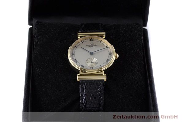Used luxury watch IWC * 18 ct gold manual winding Kal. 88 LIMITED EDITION | 160198 07