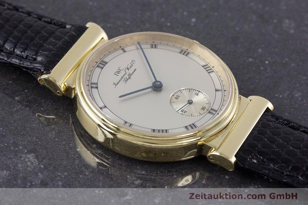 Used luxury watch IWC * 18 ct gold manual winding Kal. 88 LIMITED EDITION | 160198 15