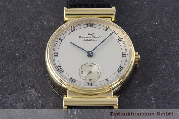 Used luxury watch IWC * 18 ct gold manual winding Kal. 88 LIMITED EDITION | 160198 16