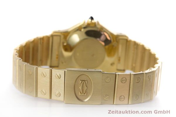 Used luxury watch Cartier Santos 18 ct gold automatic Kal. ETA 2671  | 160199 10