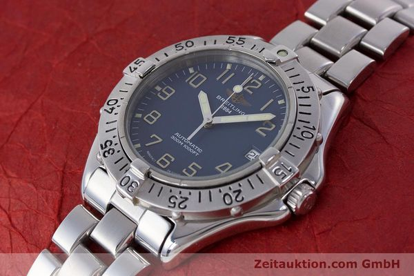 Used luxury watch Breitling Colt steel automatic Kal. B17 ETA 2824-2 Ref. A17035  | 160210 01