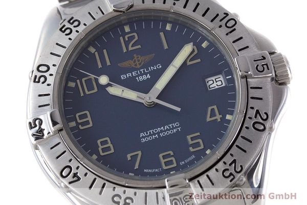 Used luxury watch Breitling Colt steel automatic Kal. B17 ETA 2824-2 Ref. A17035  | 160210 02