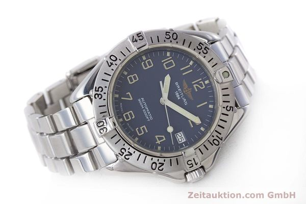 Used luxury watch Breitling Colt steel automatic Kal. B17 ETA 2824-2 Ref. A17035  | 160210 03