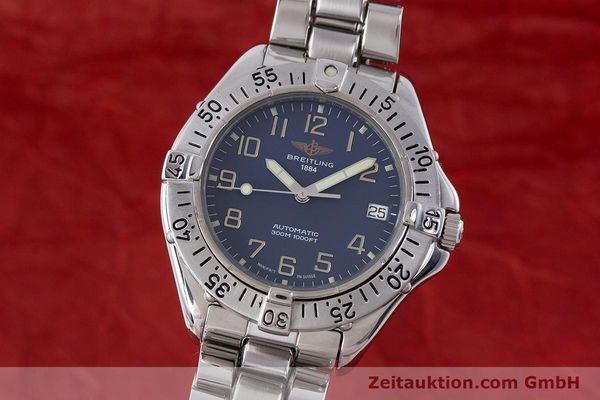Used luxury watch Breitling Colt steel automatic Kal. B17 ETA 2824-2 Ref. A17035  | 160210 04