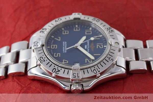 Used luxury watch Breitling Colt steel automatic Kal. B17 ETA 2824-2 Ref. A17035  | 160210 05