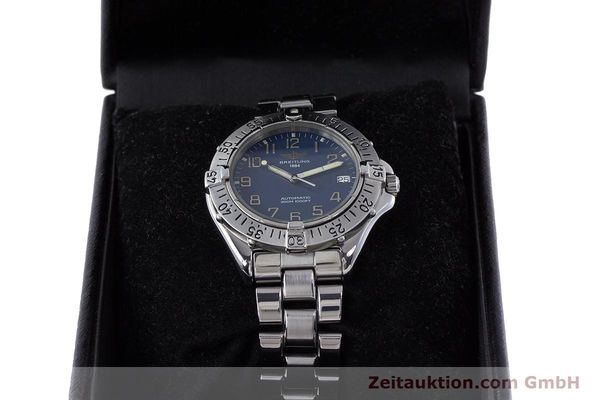 Used luxury watch Breitling Colt steel automatic Kal. B17 ETA 2824-2 Ref. A17035  | 160210 07