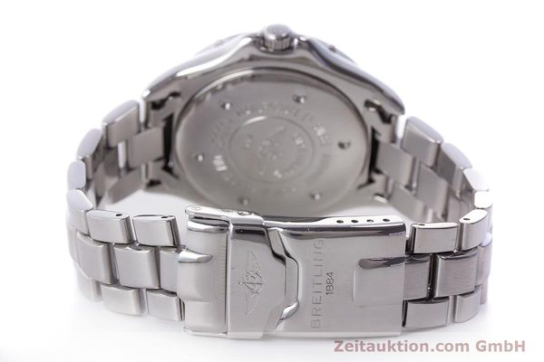 Used luxury watch Breitling Colt steel automatic Kal. B17 ETA 2824-2 Ref. A17035  | 160210 11