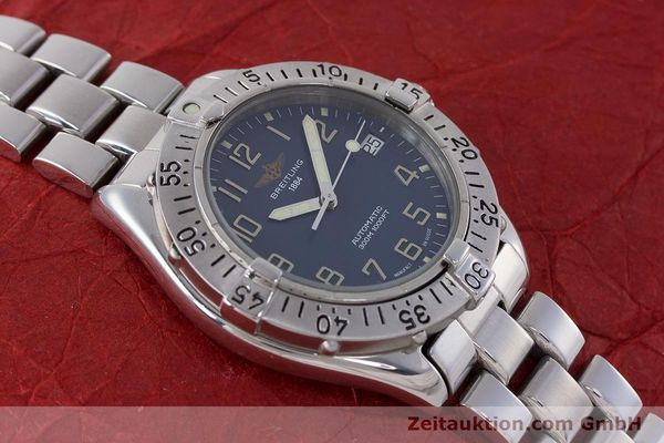 Used luxury watch Breitling Colt steel automatic Kal. B17 ETA 2824-2 Ref. A17035  | 160210 13