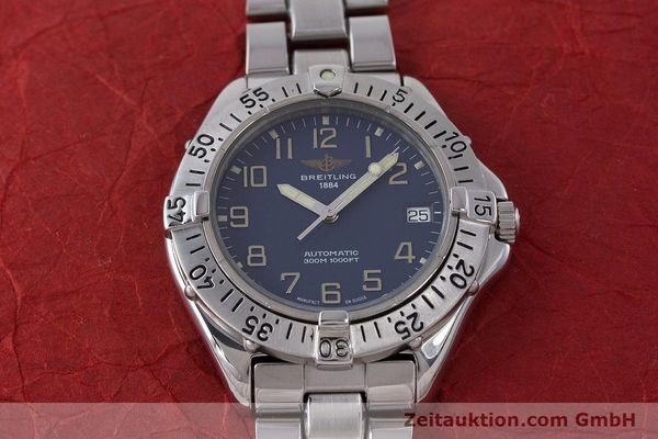 Used luxury watch Breitling Colt steel automatic Kal. B17 ETA 2824-2 Ref. A17035  | 160210 14