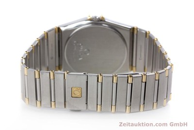 OMEGA CONSTELLATION STAHL / GOLD HERRENUHR KLASSIKER DAY-DATE VP: 3220,- EURO [160212]