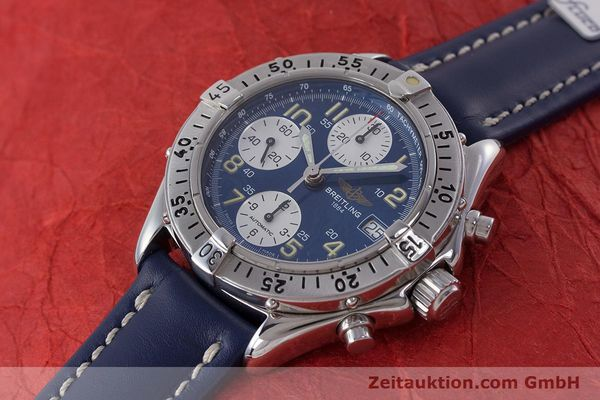 Used luxury watch Breitling Colt chronograph steel automatic Kal. B13 ETA 7750 Ref. A13035.1  | 160227 01