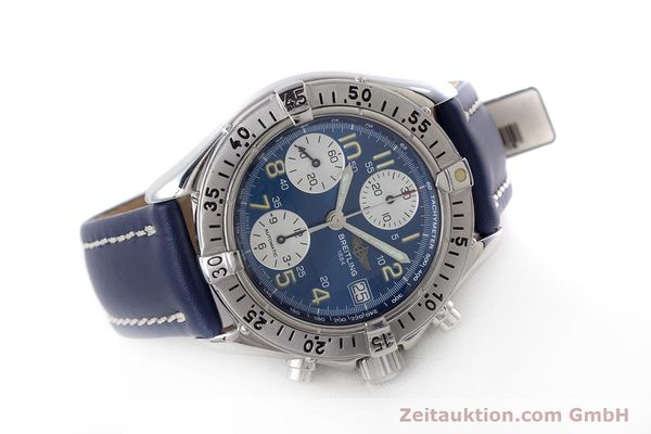 Used luxury watch Breitling Colt chronograph steel automatic Kal. B13 ETA 7750 Ref. A13035.1  | 160227 03