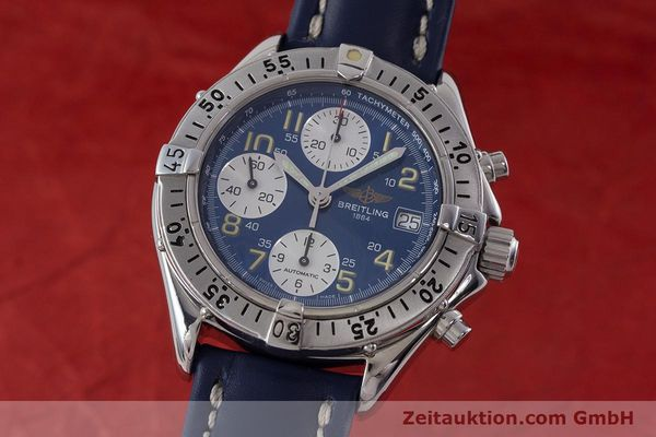 Used luxury watch Breitling Colt chronograph steel automatic Kal. B13 ETA 7750 Ref. A13035.1  | 160227 04