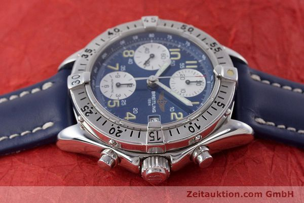 Used luxury watch Breitling Colt chronograph steel automatic Kal. B13 ETA 7750 Ref. A13035.1  | 160227 05