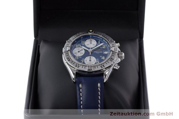 Used luxury watch Breitling Colt chronograph steel automatic Kal. B13 ETA 7750 Ref. A13035.1  | 160227 07