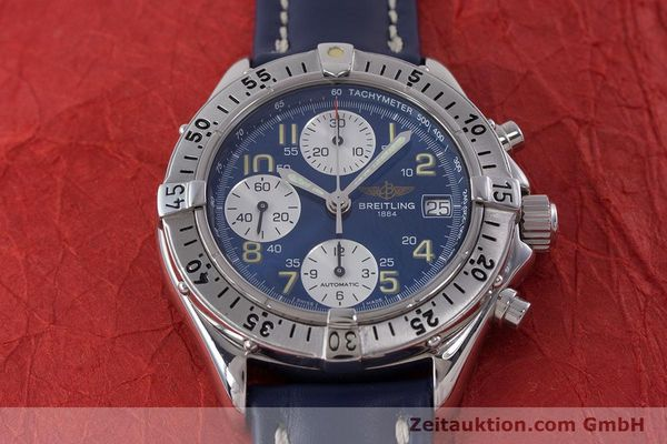 Used luxury watch Breitling Colt chronograph steel automatic Kal. B13 ETA 7750 Ref. A13035.1  | 160227 14