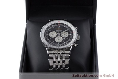 BREITLING NAVITIMER HERITAGE CHRONOGRAPH AUTOMATIK STAHL A35340 VP: 7860,- EURO [160229]