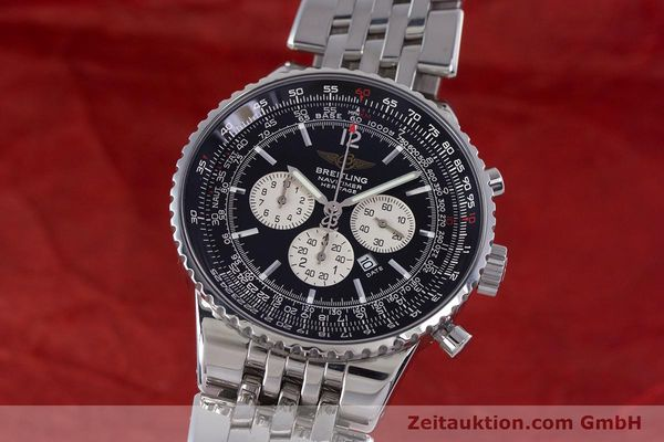 BREITLING NAVITIMER HERITAGE CHRONOGRAPH AUTOMATIK STAHL A35350 VP: 7860,- EURO [160230]