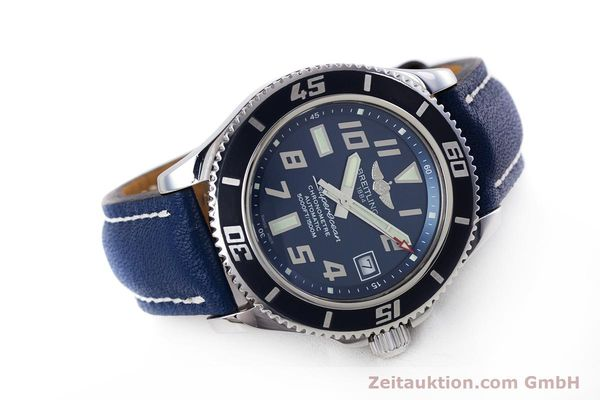 Used luxury watch Breitling Superocean steel automatic Kal. B17 ETA 2824-2 Ref. A17364 LIMITED EDITION | 160231 03