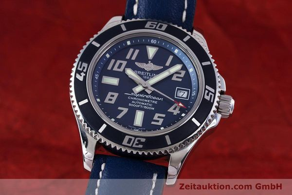 Used luxury watch Breitling Superocean steel automatic Kal. B17 ETA 2824-2 Ref. A17364 LIMITED EDITION | 160231 04