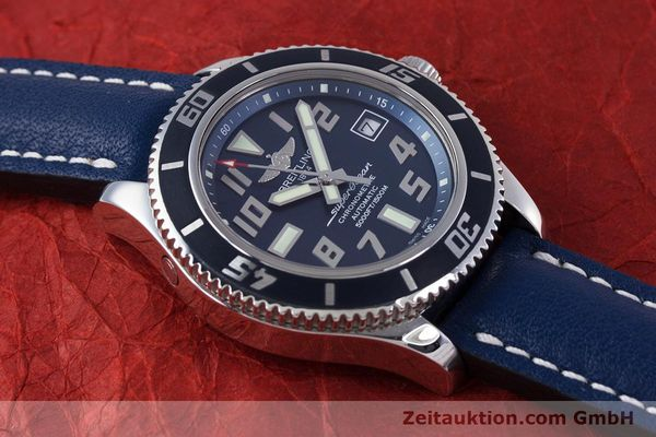 Used luxury watch Breitling Superocean steel automatic Kal. B17 ETA 2824-2 Ref. A17364 LIMITED EDITION | 160231 15