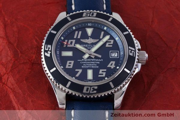 Used luxury watch Breitling Superocean steel automatic Kal. B17 ETA 2824-2 Ref. A17364 LIMITED EDITION | 160231 16