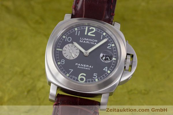 PANERAI LUMINOR MARINA ACIER AUTOMATIQUE KAL. ETA A05511 LP: 6000EUR  [160242]