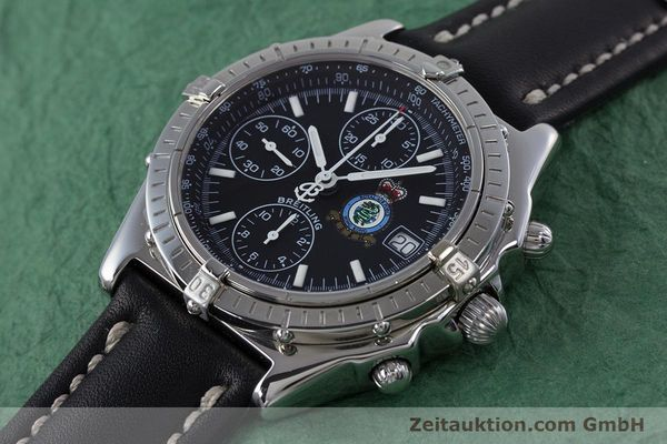 Used luxury watch Breitling Chronomat chronograph steel automatic Kal. B13 ETA 7750 Ref. A13050.1 LIMITED EDITION | 160247 01