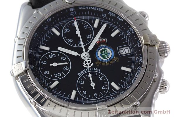 Used luxury watch Breitling Chronomat chronograph steel automatic Kal. B13 ETA 7750 Ref. A13050.1 LIMITED EDITION | 160247 02