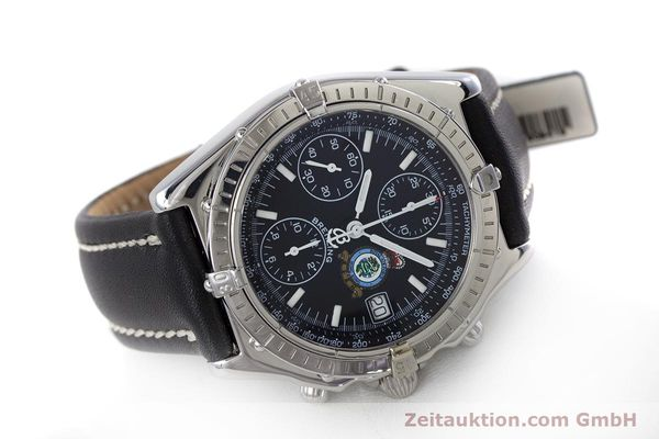 Used luxury watch Breitling Chronomat chronograph steel automatic Kal. B13 ETA 7750 Ref. A13050.1 LIMITED EDITION | 160247 03