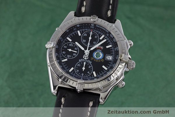Used luxury watch Breitling Chronomat chronograph steel automatic Kal. B13 ETA 7750 Ref. A13050.1 LIMITED EDITION | 160247 04