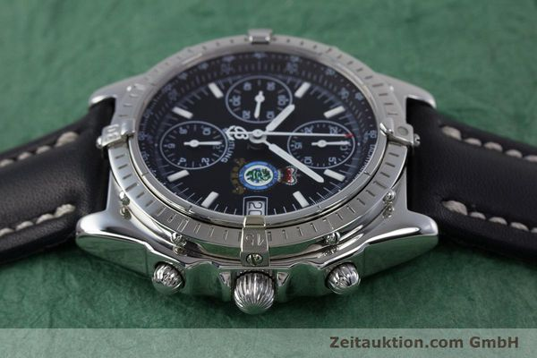 Used luxury watch Breitling Chronomat chronograph steel automatic Kal. B13 ETA 7750 Ref. A13050.1 LIMITED EDITION | 160247 05