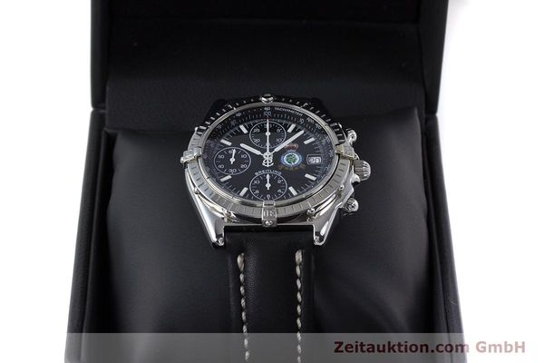 Used luxury watch Breitling Chronomat chronograph steel automatic Kal. B13 ETA 7750 Ref. A13050.1 LIMITED EDITION | 160247 07