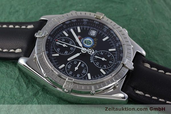 Used luxury watch Breitling Chronomat chronograph steel automatic Kal. B13 ETA 7750 Ref. A13050.1 LIMITED EDITION | 160247 15