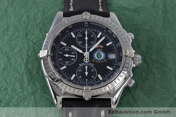 Used luxury watch Breitling Chronomat chronograph steel automatic Kal. B13 ETA 7750 Ref. A13050.1 LIMITED EDITION | 160247 16