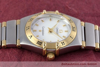 OMEGA CONSTELLATION STEEL / GOLD QUARTZ KAL. 1456 LP: 3960EUR [160249]