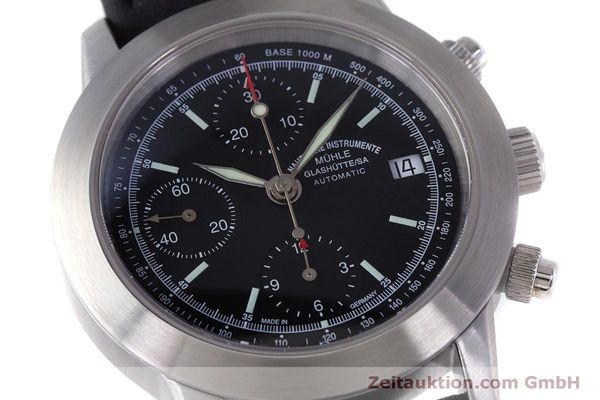 Used luxury watch Mühle Sport Chronograph chronograph steel automatic Kal. ETA 7750 Ref. M1-23-00  | 160255 02