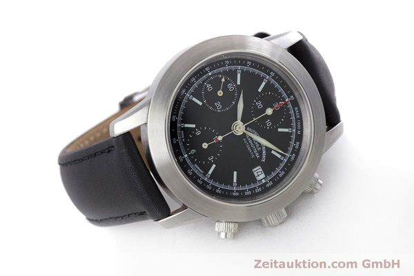 Used luxury watch Mühle Sport Chronograph chronograph steel automatic Kal. ETA 7750 Ref. M1-23-00  | 160255 03