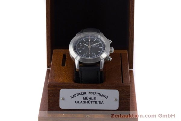 Used luxury watch Mühle Sport Chronograph chronograph steel automatic Kal. ETA 7750 Ref. M1-23-00  | 160255 07
