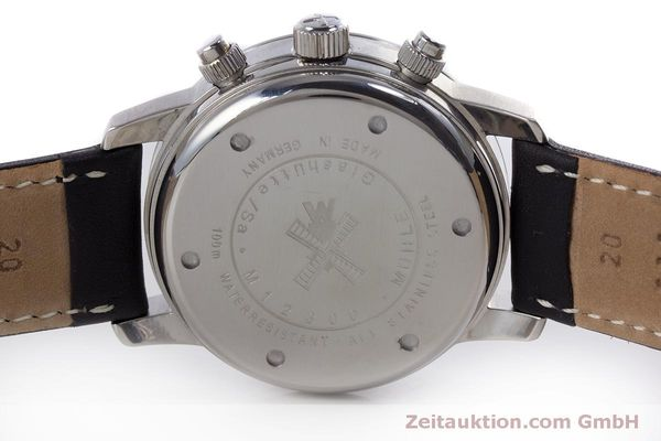 Used luxury watch Mühle Sport Chronograph chronograph steel automatic Kal. ETA 7750 Ref. M1-23-00  | 160255 09