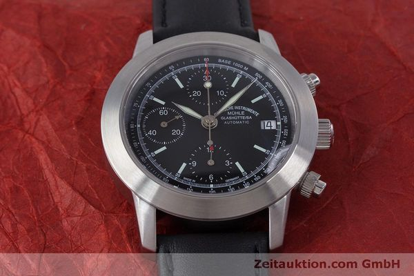 Used luxury watch Mühle Sport Chronograph chronograph steel automatic Kal. ETA 7750 Ref. M1-23-00  | 160255 14
