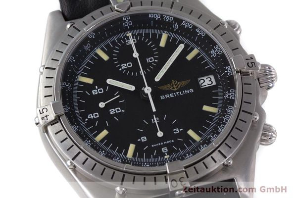 Used luxury watch Breitling Chronomat chronograph steel automatic Kal. Valj.  7750 Ref. 81950  | 160260 02