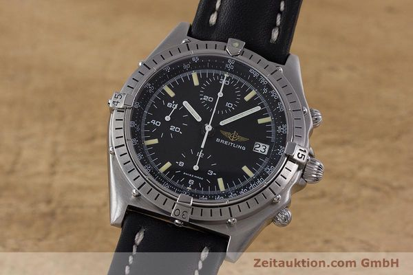 Used luxury watch Breitling Chronomat chronograph steel automatic Kal. Valj.  7750 Ref. 81950  | 160260 04