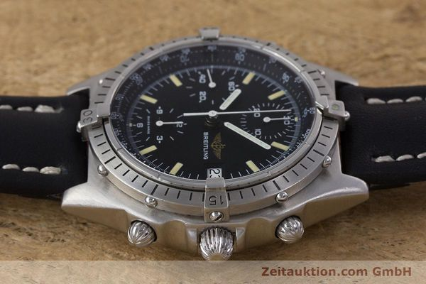 Used luxury watch Breitling Chronomat chronograph steel automatic Kal. Valj.  7750 Ref. 81950  | 160260 05