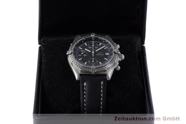 Used luxury watch Breitling Chronomat chronograph steel automatic Kal. Valj.  7750 Ref. 81950  | 160260 07
