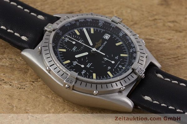 Used luxury watch Breitling Chronomat chronograph steel automatic Kal. Valj.  7750 Ref. 81950  | 160260 12