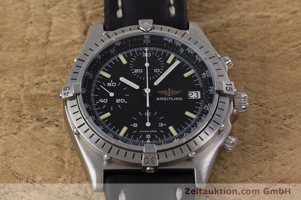 Used luxury watch Breitling Chronomat chronograph steel automatic Kal. Valj.  7750 Ref. 81950  | 160260 13