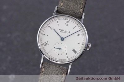 NOMOS LUDWIG STEEL MANUAL WINDING KAL. ALPHA LP: 1460EUR [160263]