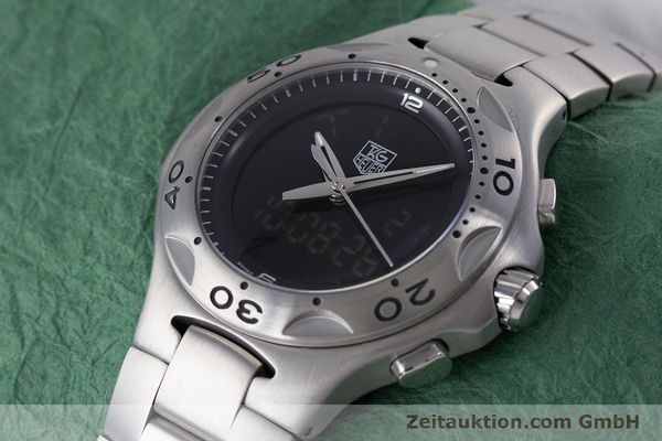 Used luxury watch Tag Heuer Kirium chronograph steel quartz Kal. ETA E20.321 Ref. CL111A  | 160265 01